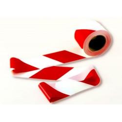 Cinta balizamiento blanca/roja