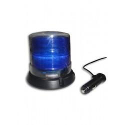 Prioritario  magnetico vehiculo azul
