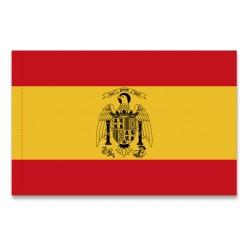 Bandera nacional con aguila de San Juan