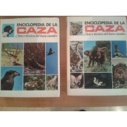 Enciclopedia de la caza (dos volumenes)